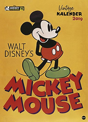 Mickey Mouse Edition - Kalender 2019 Kalender – 2. Oktober 2018 Heye 3840163315 Comic Comic / Klassiker