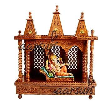 Aarsun Woods Sheesham Folding Wooden Temple / Mandir