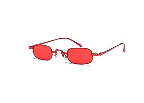 Gafas de Sol Rectangulares Pequeñas Gafas de Sol para Hombre ...
