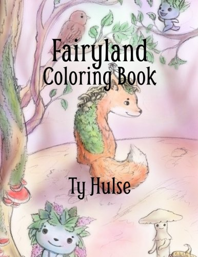 Fairyland Colring Book