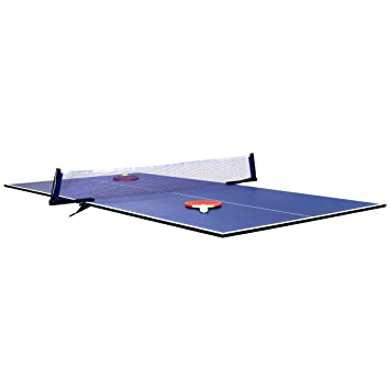 Charles Bentley 6ft Indoor Folding Table Tennis Ping Pong Table Top Board  Use With Snooker Pool