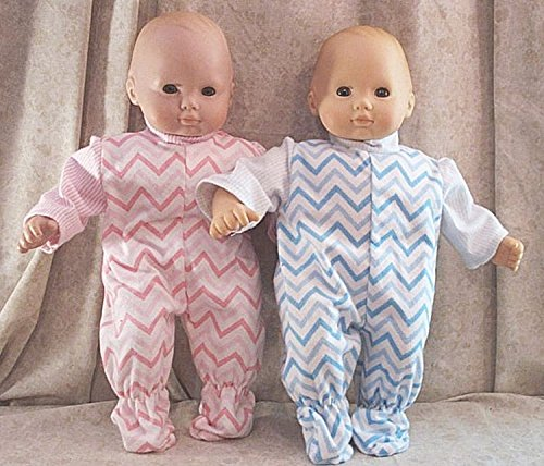 Doll Clothes Baby Made 2 Fit American Girl 15 Bitty Twins 2pc Pajamas Rick Rack