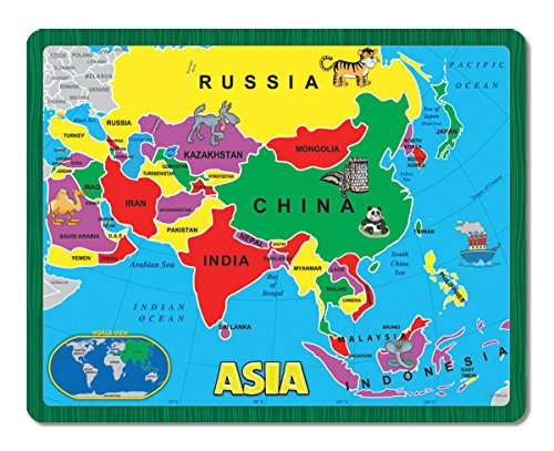 A Broader View The Continent Puzzle - Asia