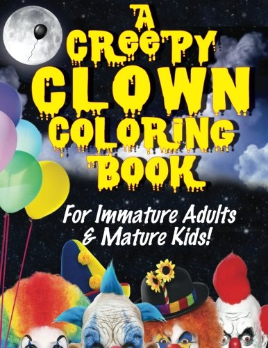 Scary Clown Drawing (A Creepy Clown Coloring Book)