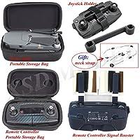 XSD MODEL 5in1 DJI Mavic Pro Remote Controller/Drone Body Bag +Remote Controller Signal Booster+Joystick Holder+gift neck strap