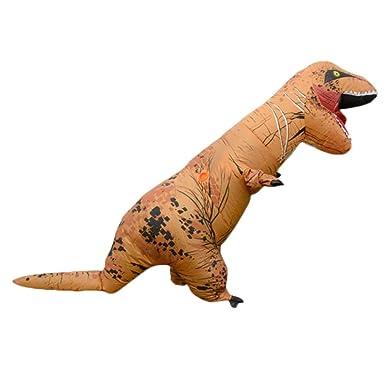 Inflable Dinosaurio T-Rex Disfraz Partido Traje Halloween ...