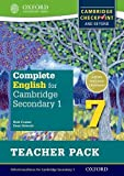 Complete English for Cambridge Secondary 1 Teacher Pack 7: For Cambridge Checkpoint and beyond