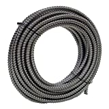 HydroMaxx® Non Metallic Flexible PVC Electrical Conduit - Black - 2'' dia x 100 ft