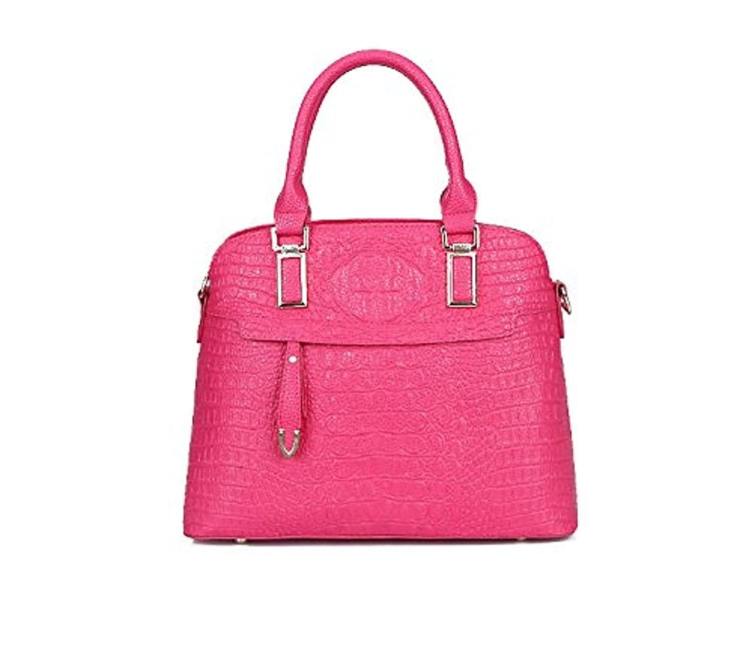 2016 latest and fashionable girl bag tote bag PU bag satchels 2 Pcs Set--fast delivery in one week