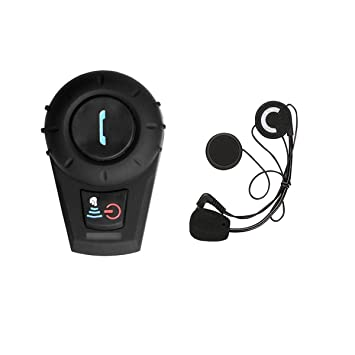 Auriculares Intercomunicador Bluetooth de Casco de Motocicleta Moto Intercom Headset 500M