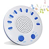 [Upgraded 2018] White Noise Machine, Sleep Sound Machine with 9 Natural Sounds and Timer, Spa Relaxation, Sleep Therapy for Baby,Kid,Adult,Traveler