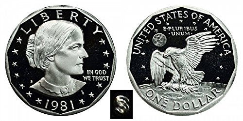 1981 S Susan B. Anthony Type 1 Proof Dollar Dollar Perfect Uncirculated US Mint ()