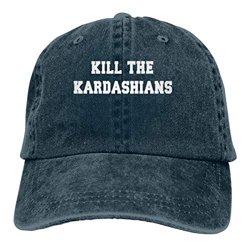 Vdaras Kill The Kardashians Mens Hat Baseball Caps Cowboy Hat Navy ()