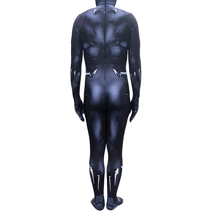 WEGCJU Traje De Black Panther Traje De Impresión 3D Traje De ...