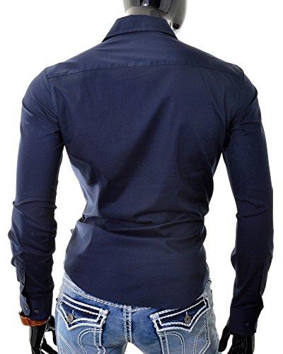 Shirt design italiano smart D&R Fashion uomini con Universal Cut