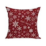 Pillow Protector,Becoler Christmas Super Soft Pillow Protector Case (D)