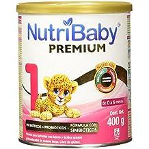 Nutribaby Premium Etapa 1 Formula para Lactantes en Polvo para 0-6 Meses, 400 g