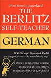 img - for The Berlitz Self-Teacher -- German: A Unique Home-Study Method Developed by the Famous Berlitz Schools of Language book / textbook / text book