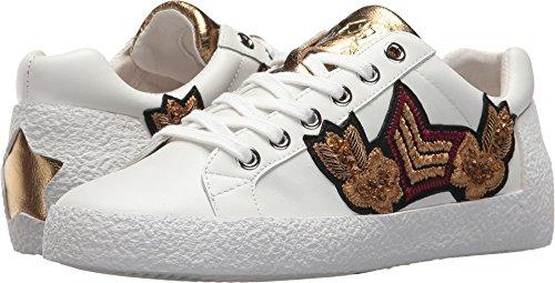Ash Women Footwear (ASH Women's Nak Arms White/Blade Old Gold Nappa Calf 36 M EU)