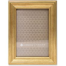Lawrence Frames Sutter Burnished Picture Frame, 4 by 6-Inch, Gold
