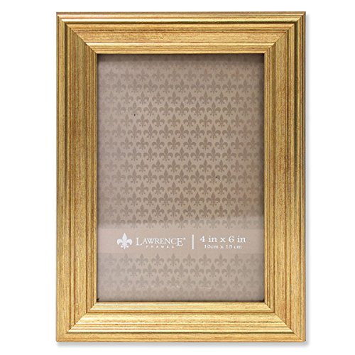 Lawrence Frames Sutter Burnished Picture Frame, 4 by 6-Inch,