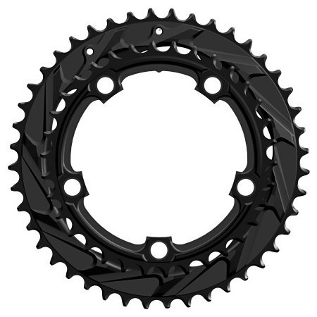 WickWerks 44/34t 110 BCD Cyclocross Chainrings