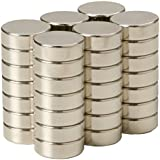 SBS® Neodym Magnet 10x2 mm 20 Stück Magnete Extrem Stark
