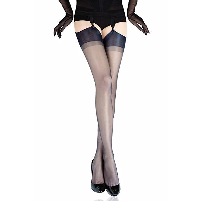 0cc900b01 Gio Women RHT Stockings - FULL CONTRAST - Perfects bronze black S (9-