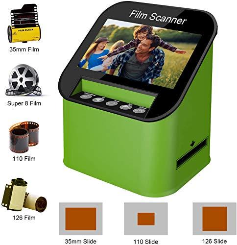 """KODAK Slide N SCAN Film and Slide Scanner with Large 5/"""" LCD Screen 126 110 Film Negatives /& Slides to High Resolution 22MP JPEG Digital Photos Convert Color /& B/&W Negatives /& Slides 35mm"""