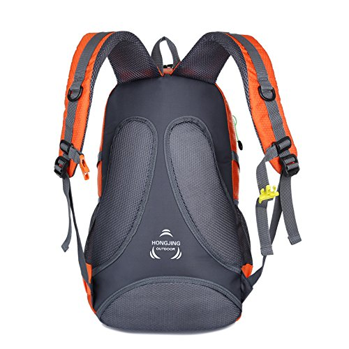Mountaineering Bag Outdoor Männer und Frauen Schulter Rucksack nylon Wanderpackage Bergsteigen Taschen , schwarz