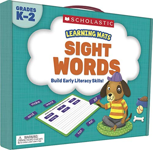 Learning Mats: Sight Words - Learning Sight Word Mats