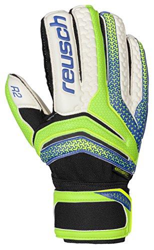 Reusch Soccer Reusch Serathor Prime R2 Ortho Tec Goalkeeper Glove, Green/Blue, 8 (Ortho Tec Glove)