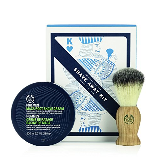 The Body Shop Shave Away Kit, 2pc Paraben-Free Shave Kit for (Body Cream Kit)