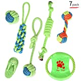 Pet Dog Rope Toys for Small and Medium Dogs Puppy Chew Toys Dog Rope(Set of 7)