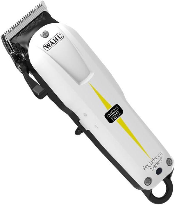 Wahl Prolithium Series - Maquina cortapelos, cuchillas cromadas ...