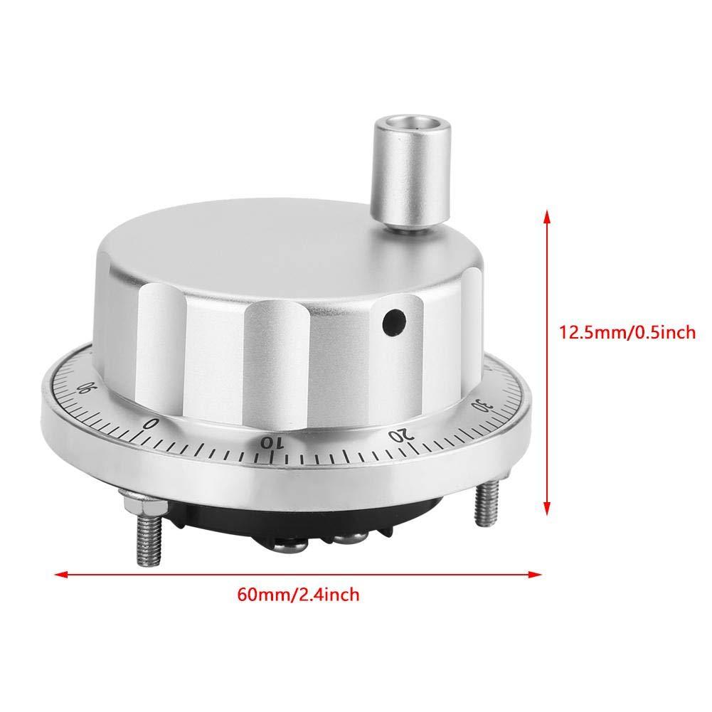 Akozon CNC Hand Wheel 5-26V Universal Electronic Hand Wheel 100 ...