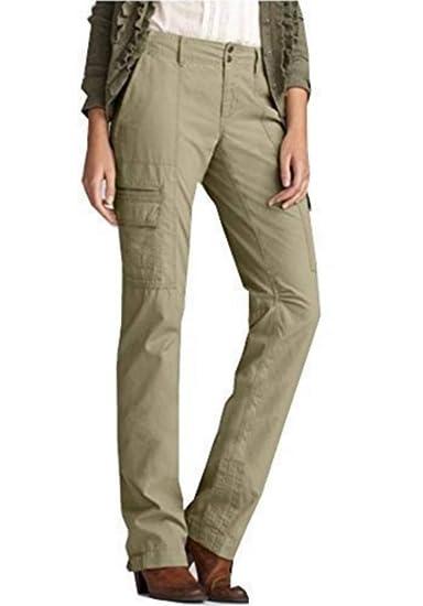 94ddcaaf7e22 Eddie Bauer Pantalon Cargo Pantalon Femmes de Sable