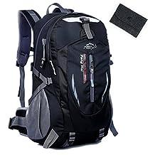 San Tokra Outdoor Travel Waterproof Nylon Backpack Large Capacity Hiking Backpack