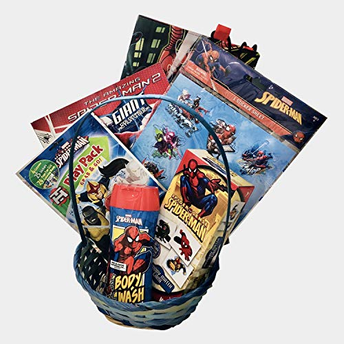 Spiderman Complete Baby/Toddler Boys Easter/Birthday Toys Gift Basket (20+ Pieces) for $<!--$19.99-->