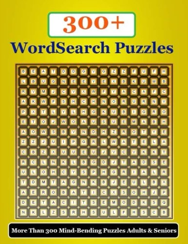 300+ Word Search Puzzles: Solve clever clues and hunt for hidden words More than 300 mind-bending puzzles Adults & Seniors - Clever Clues