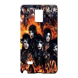 samsung note 4 covers PC Snap On Hard Cases Covers phone carrying cover skin black veil brides