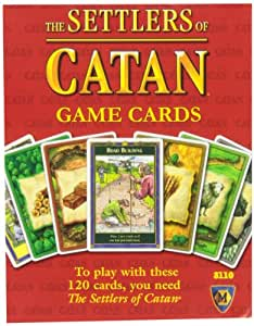Mayfair Games Replacement Card Set Settlers of Catan by Alliance Games