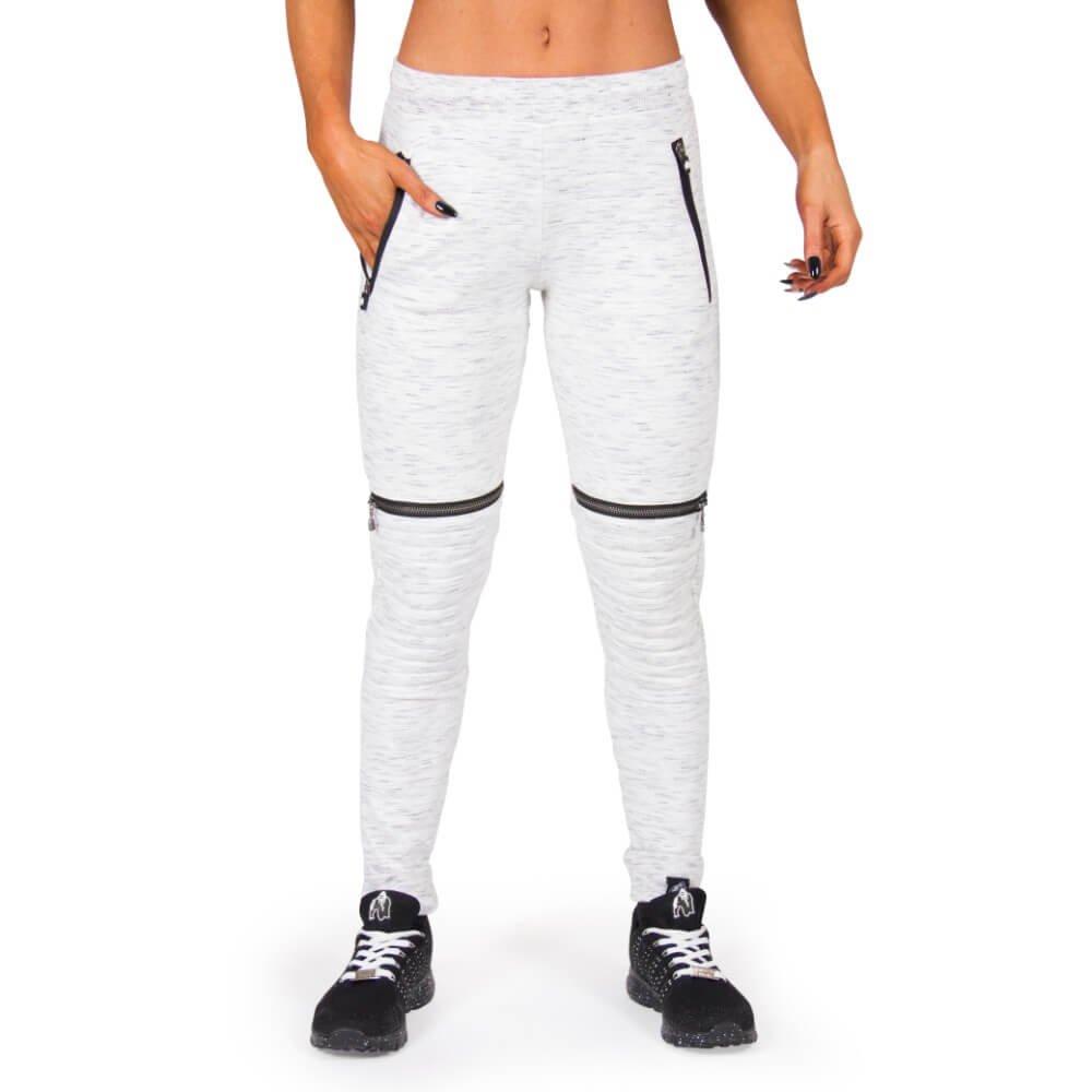 Gorilla Wear Tampa Biker Joggers - grau - Bodybuilding und Fitness Hose für Damen