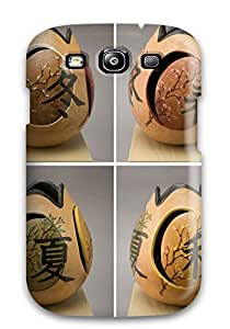 Fashion Protective Gourd Art Case Cover For Galaxy S3