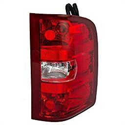 Passengers Taillight Tail Lamp Lens Replacement for Chevrolet GMC Pickup Truck 25958483