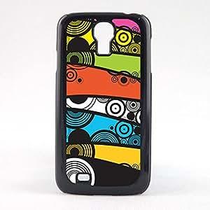 Case Fun Case Fun Multicoloured Circle and Swirls Snap-on Hard Back Case Cover for Samsun Galaxy S4 Mini (I9190)