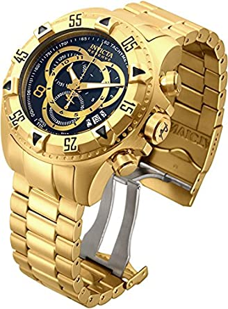 Invicta Mens 80624 Excursion Quartz 3 Hand Black Dial Watch