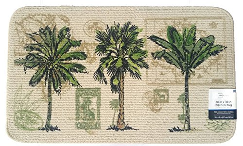 Mainstays Tropical Kitchen Rug Door Mat