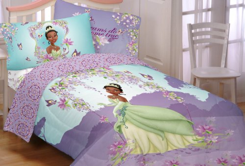 UPC 073558667490, Disney Princess and The Frog Sunset Dreams Printed Full Sheet Set