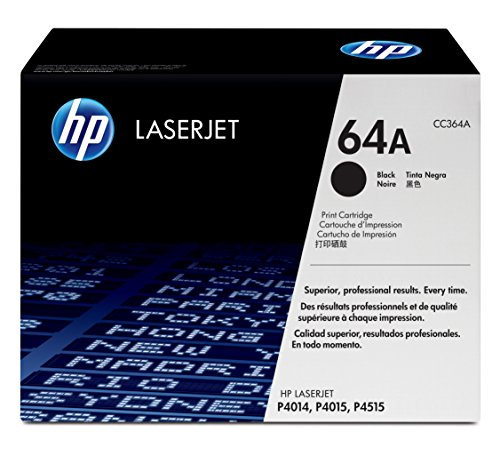 HP CC364A 64A Original LaserJet Toner Cartridge Black by HP